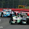 August 3: Sebastien Bourdais and James Hinchcliffe at The Honda Indy 200 at Mid-Ohio.