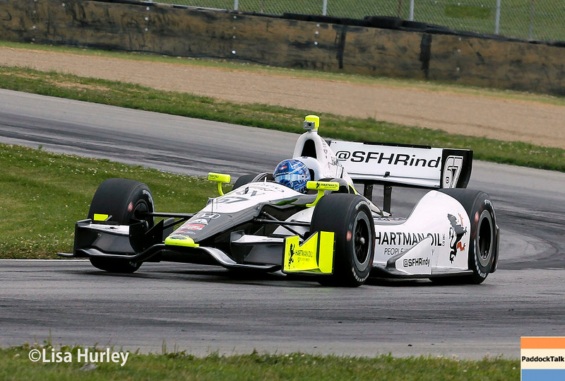August 1: Josef Newgarden at The Honda Indy 200 at Mid-Ohio.