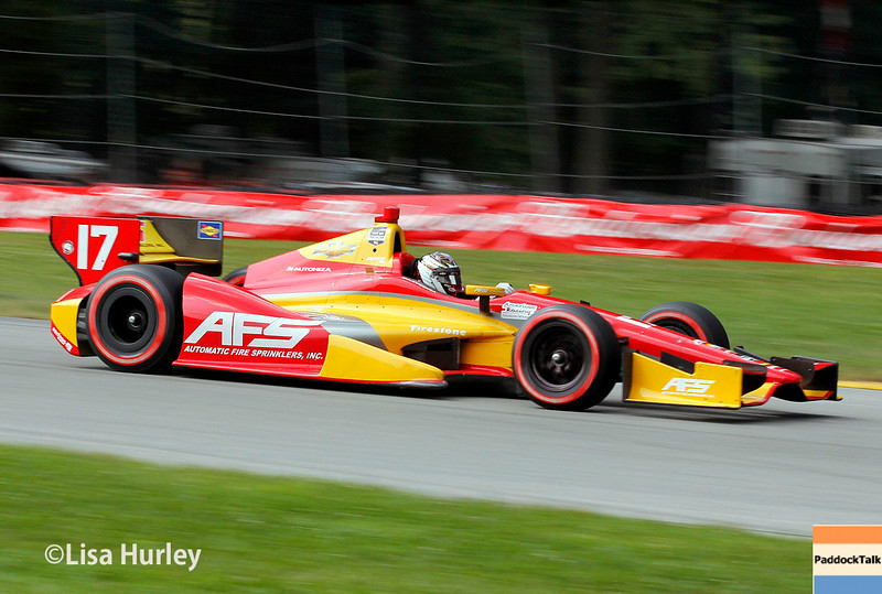 August 3: Sebastian Saavedra at The Honda Indy 200 at Mid-Ohio.