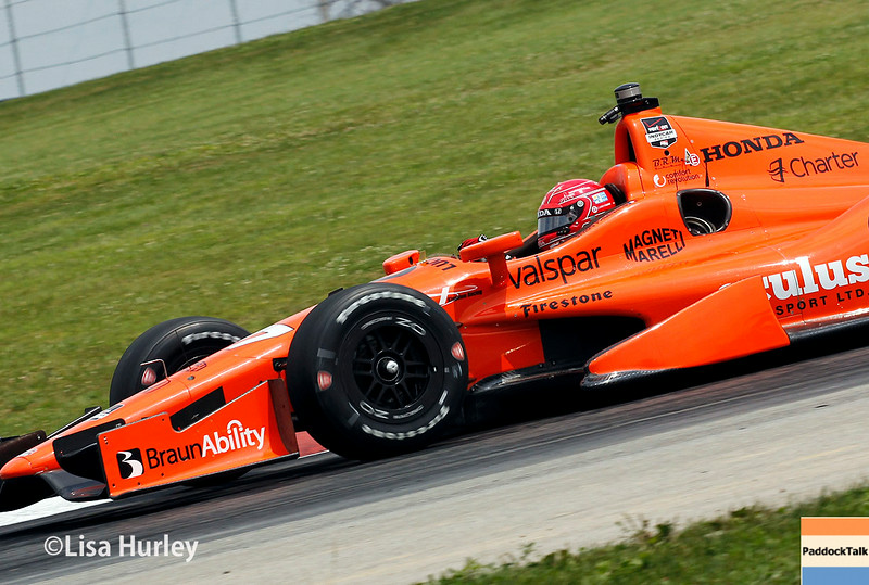 August 1: Simon Pagenaud at The Honda Indy 200 at Mid-Ohio.