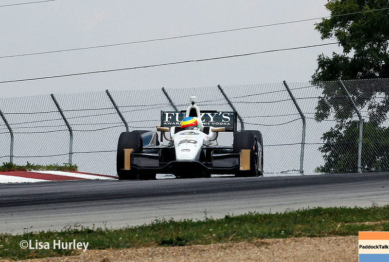 August 1: Mike Conway at The Honda Indy 200 at Mid-Ohio.