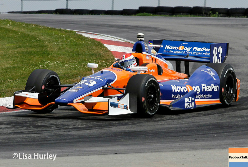 August 1: Charlie Kimball at The Honda Indy 200 at Mid-Ohio.