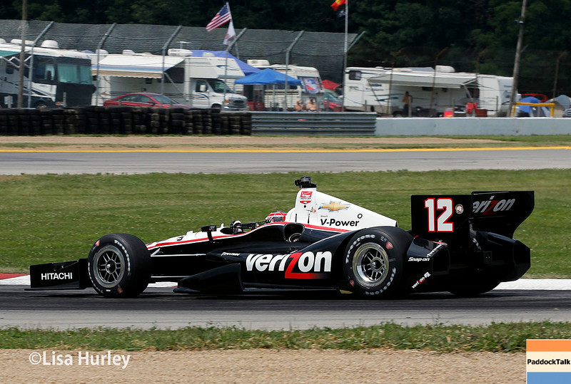 August 1: Will Power at The Honda Indy 200 at Mid-Ohio.