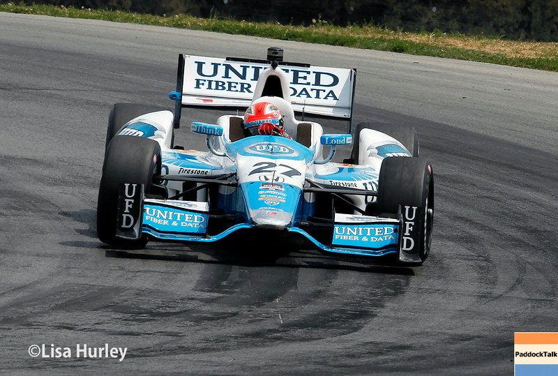 August 1: James Hinchcliffe at The Honda Indy 200 at Mid-Ohio.