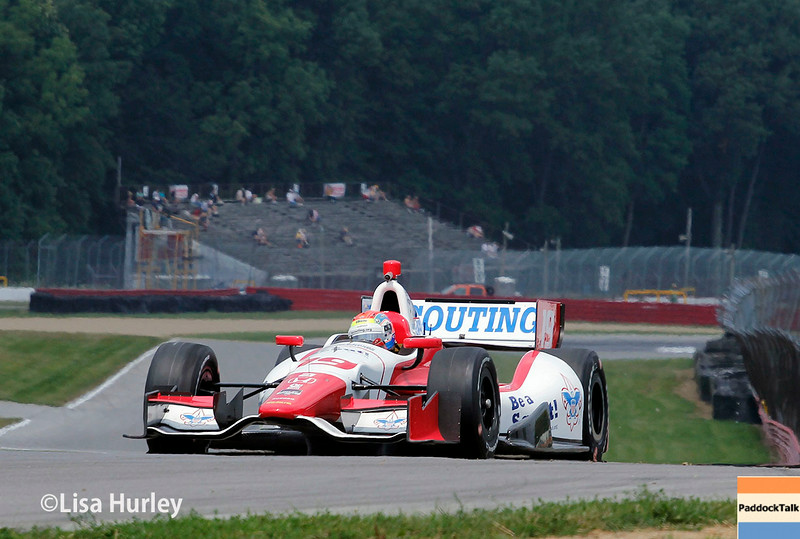 August 1: Justin Wilson at The Honda Indy 200 at Mid-Ohio.