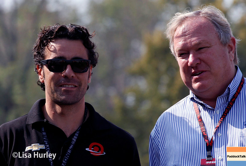 August 2: Dario Franchitti and Dale Coyne at The Honda Indy 200 at Mid-Ohio.