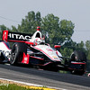 August 2: Helio Castroneves at The Honda Indy 200 at Mid-Ohio.