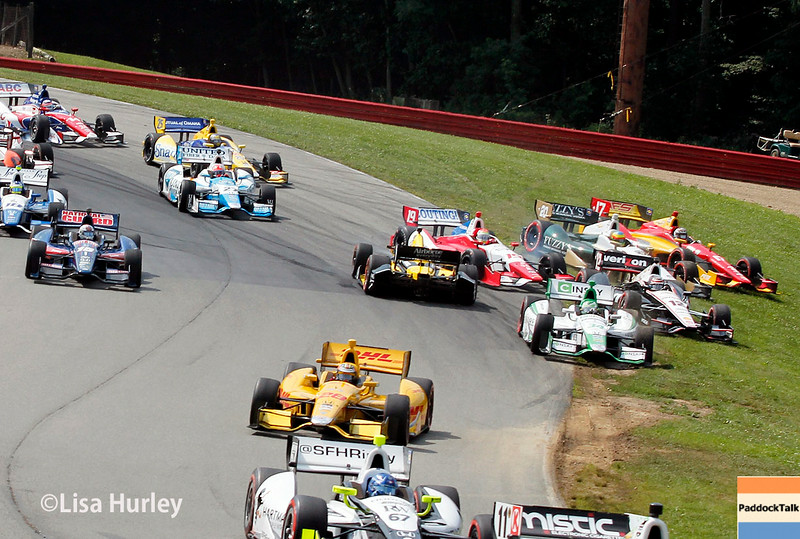 August 3: The start of The Honda Indy 200 at Mid-Ohio.