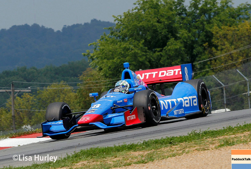 August 1: Ryan Briscoe at The Honda Indy 200 at Mid-Ohio.