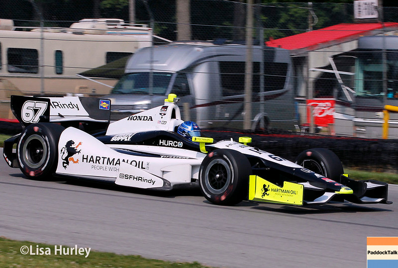 August 2: Josef Newgarden at The Honda Indy 200 at Mid-Ohio.