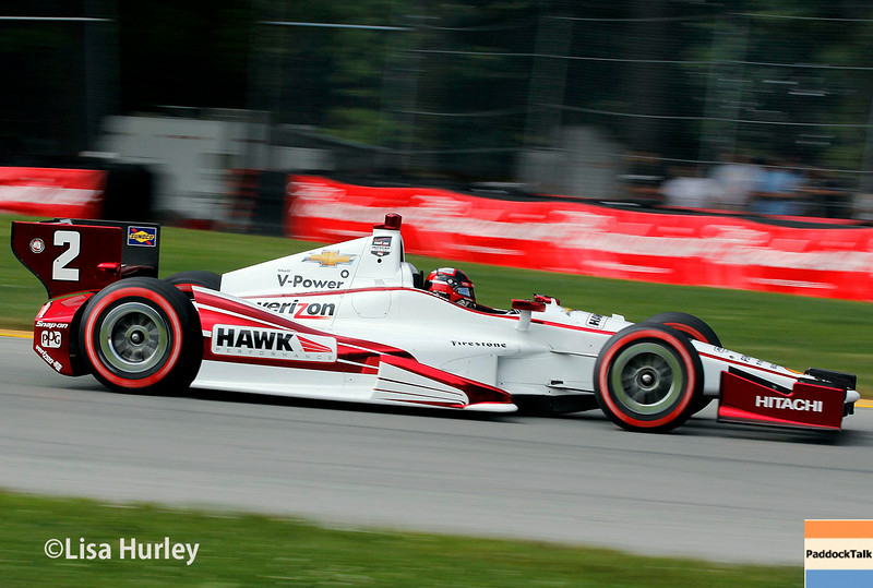 August 3: Juan Montoya at The Honda Indy 200 at Mid-Ohio.