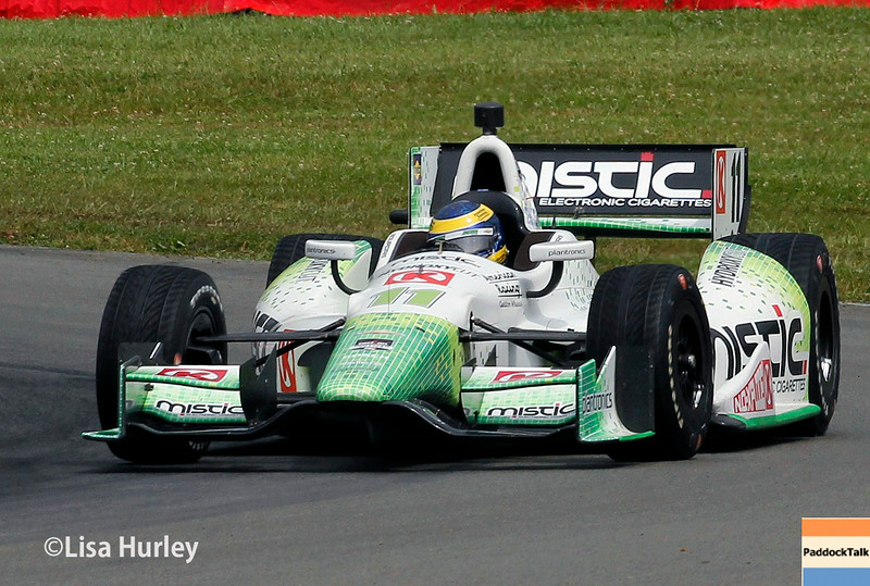 August 2: Sebastien Bourdais at The Honda Indy 200 at Mid-Ohio.