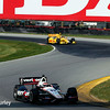August 2: Ryan Hunter-Reay and Will Power at The Honda Indy 200 at Mid-Ohio.