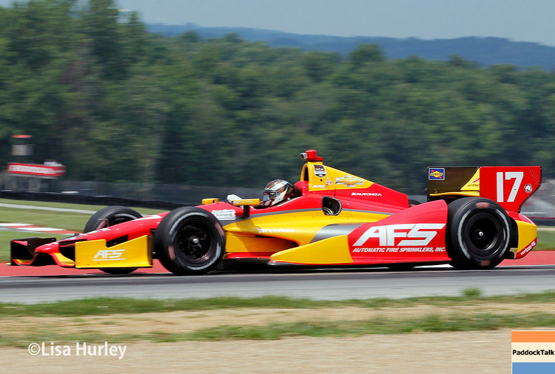 August 1: Sebastian Saavedra at The Honda Indy 200 at Mid-Ohio.