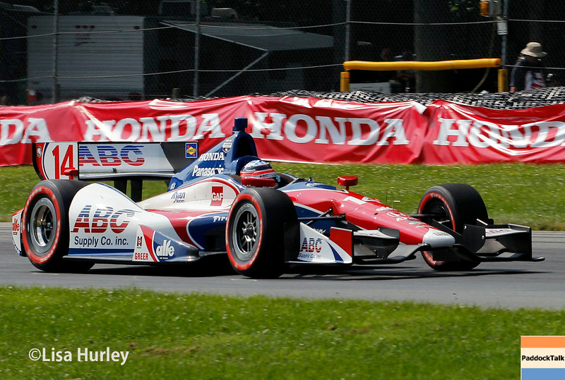 August 3: Takuma Sato at The Honda Indy 200 at Mid-Ohio.