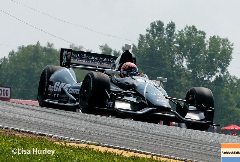 August 3: Jack Hawksworth at The Honda Indy 200 at Mid-Ohio.
