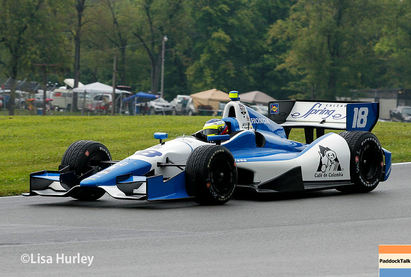 August 2: Carlos Huertas at The Honda Indy 200 at Mid-Ohio.