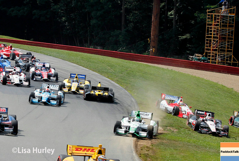 August 3: The race start of The Honda Indy 200 at Mid-Ohio.