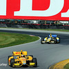 August 2: Marco Andretti and Ryan Hunter-Reay at The Honda Indy 200 at Mid-Ohio.