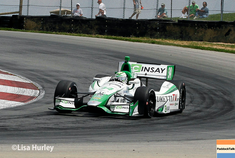 August 1: Carlos Munoz at The Honda Indy 200 at Mid-Ohio.