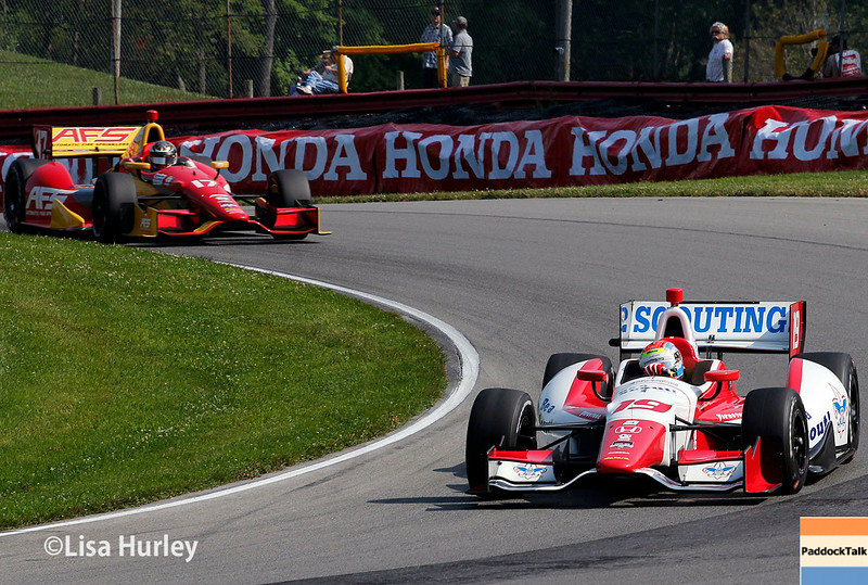 August 2:Track action at The Honda Indy 200 at Mid-Ohio.