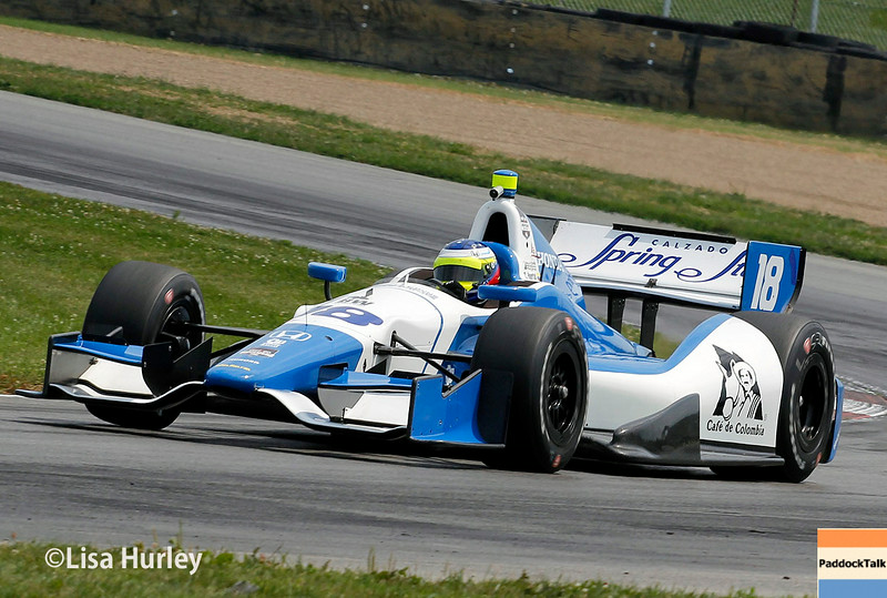 August 1: Carlos Huertas at The Honda Indy 200 at Mid-Ohio.