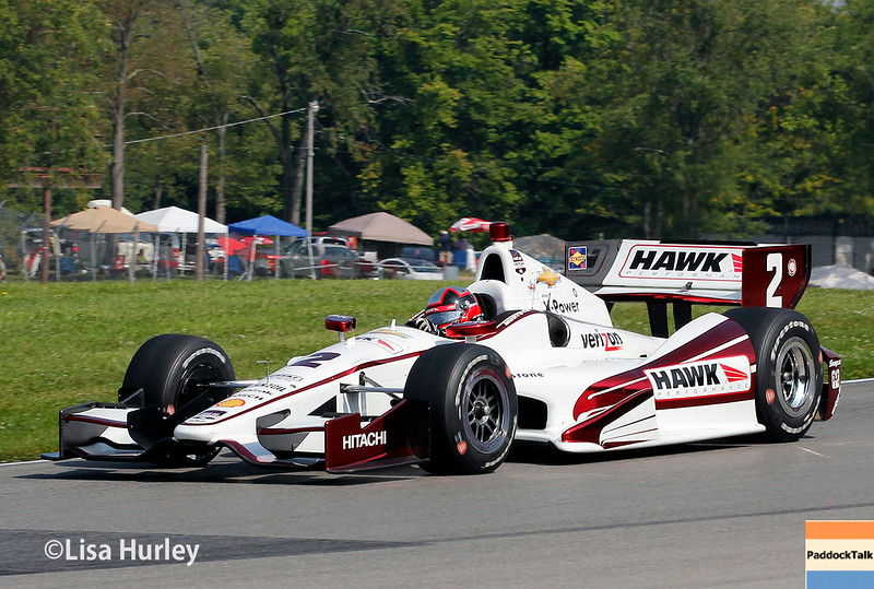 August 2: Juan Montoya at The Honda Indy 200 at Mid-Ohio.