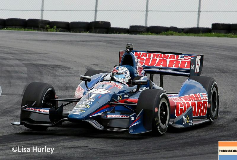August 1: Graham Rahal at The Honda Indy 200 at Mid-Ohio.