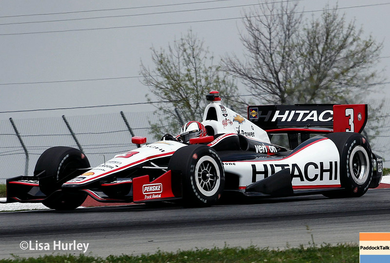 August 1: Helio Castroneves at The Honda Indy 200 at Mid-Ohio.