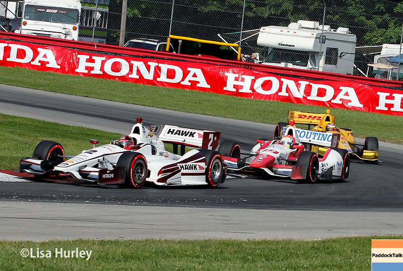 August 3: Track action at The Honda Indy 200 at Mid-Ohio.