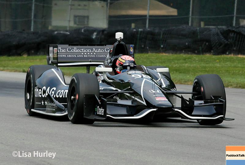 August 2: Jack Hawksworth at The Honda Indy 200 at Mid-Ohio.