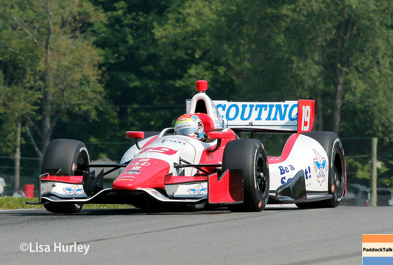August 2: Justin Wilson at The Honda Indy 200 at Mid-Ohio.