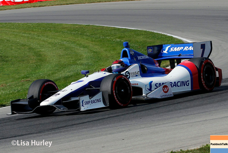 August 3: Mikhail Aleshin at The Honda Indy 200 at Mid-Ohio.