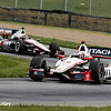August 1: Will Power and Helio Castroneves at The Honda Indy 200 at Mid-Ohio.