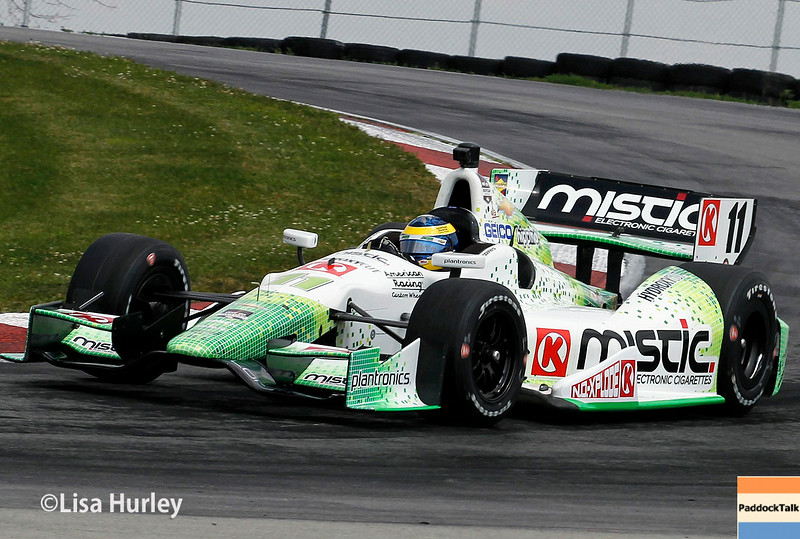 August 1: Sebastien Bourdais at The Honda Indy 200 at Mid-Ohio.