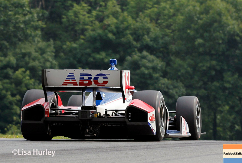 August 2: Takuma Sato at The Honda Indy 200 at Mid-Ohio.