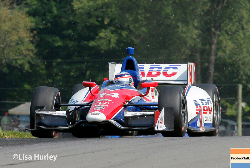 August 2: Takuma Sato at The Honda Indy 200 at Mid-Ohio.