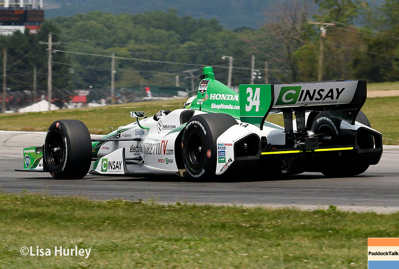 August 1: Carlos Munoz at The Honda Indy 200 at Mid-Ohio.