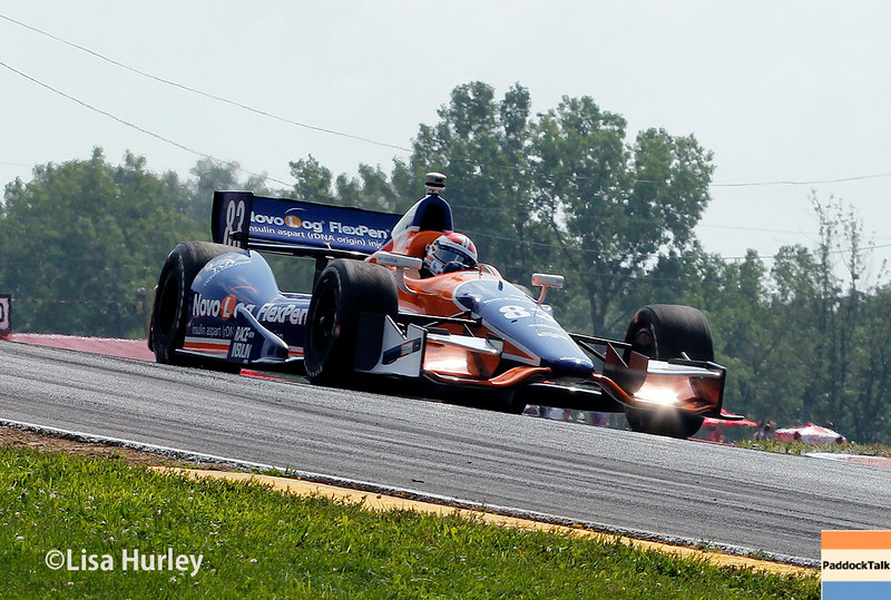 August 3: Charlie Kimball at The Honda Indy 200 at Mid-Ohio.
