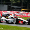 August 3: Helio Castroneves at The Honda Indy 200 at Mid-Ohio.