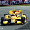 August 2: Ryan Hunter-Reay at The Honda Indy 200 at Mid-Ohio.