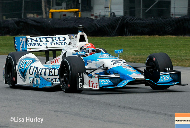 August 2: James Hinchcliffe at The Honda Indy 200 at Mid-Ohio.