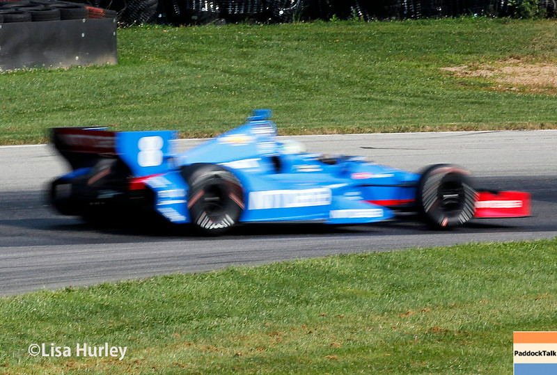 August 2: Ryan Briscoe at The Honda Indy 200 at Mid-Ohio.