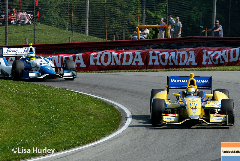 August 2: Track action at The Honda Indy 200 at Mid-Ohio.