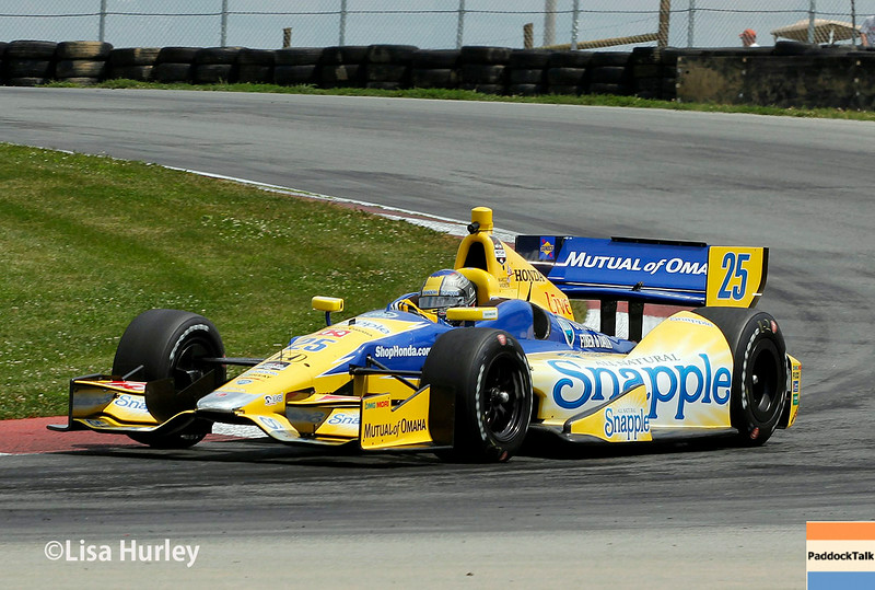 August 1: Marco Andretti at The Honda Indy 200 at Mid-Ohio.