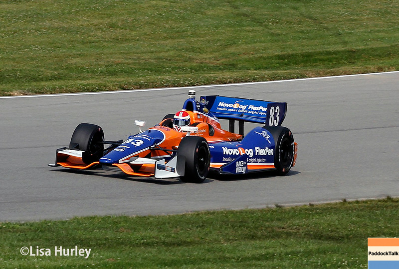 August 2: Charlie Kimball at The Honda Indy 200 at Mid-Ohio.
