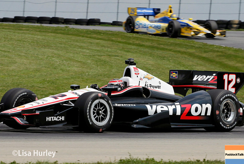 August 1: Marco Andretti and Will Power at The Honda Indy 200 at Mid-Ohio.