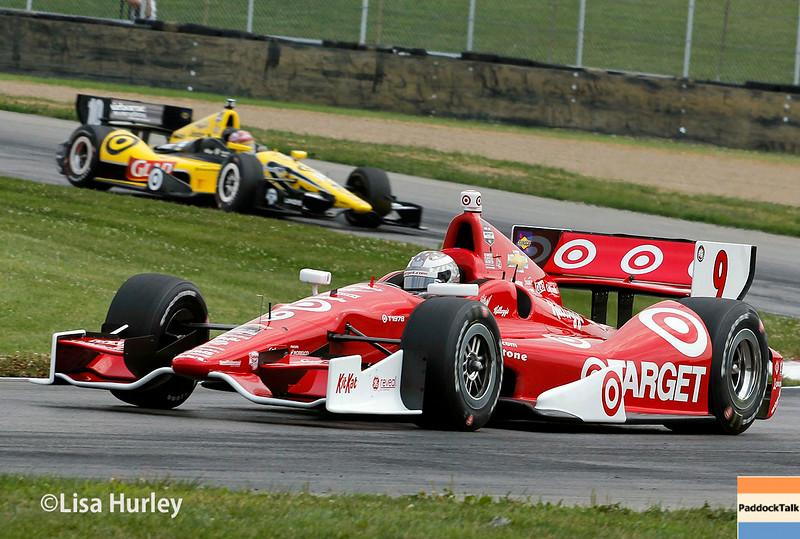 August 1: Tony Kanaan and Scott Dixon at The Honda Indy 200 at Mid-Ohio.