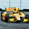 August 1: Ryan Hunter-Reay at The Honda Indy 200 at Mid-Ohio.