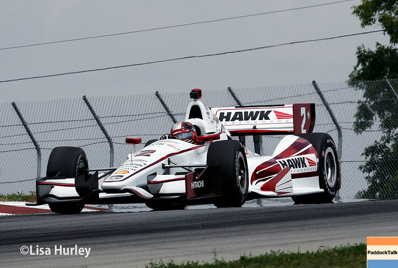 August 1: Juan Montoya at The Honda Indy 200 at Mid-Ohio.